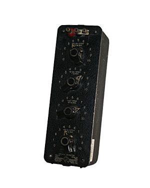 General Radio 1432-P: Decade Resistor
