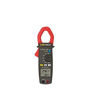AEMC 675: Clamp-on Meter Model 675 (Dual Display, TRMS, AC/DC Amps & Volts, Ohms, Continuity, Frequency & Temperature)
