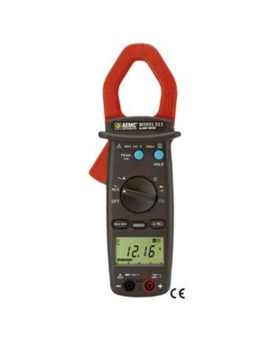AEMC 511: Clamp-on Meter Model 511 (AC, 1000AAC, 750VAC/1000VDC, Hz, Ohms, Continuity)