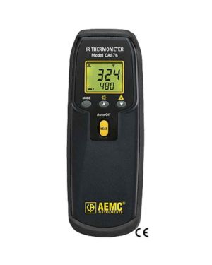 AEMC CA876: Infrared Thermometer Model CA876 (Laser, Var, K-type Thermocouple,)