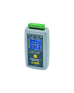 AEMC L404: Simple Logger II Model L404 (4-Channel, Event Logger, DataView Software)