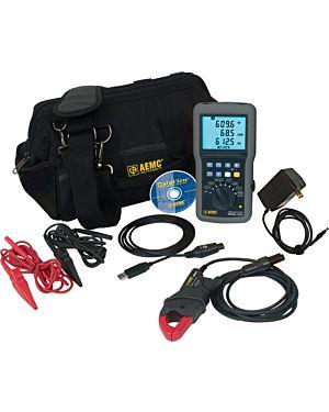 AEMC 8220 w/MN93-BK: Power Quality Meter Model 8220 w/MN93-BK