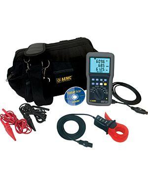 AEMC 8220 w/SR193-BK: Power Quality Meter Model 8220 w/SR193-BK
