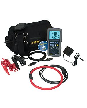 AEMC 8220 w/193-24-BK: Power Quality Meter Model 8220 w/193-24-BK