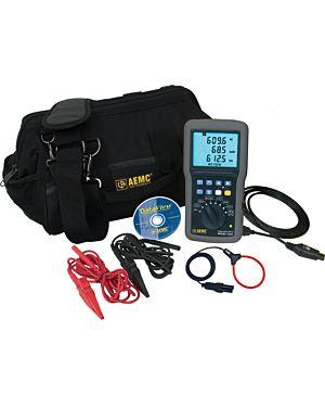 AEMC 8220 w/MA193-10-BK: Power Quality Meter Model 8220 w/MA193-10-BK