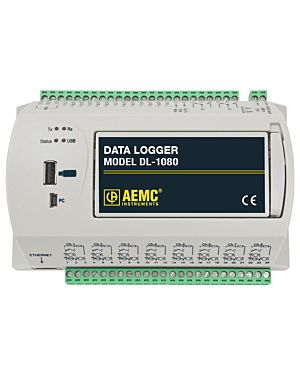 AEMC DL-1080: Data Logger Model DL-1080 (8 Analog & 8 Digital Channel, No Display)