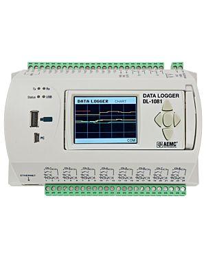 AEMC DL-1081: Data Logger Model DL-1081 (8 Analog & 8 Digital Channel, Display)