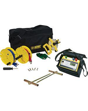 AEMC 3640 Kit-150ft: Ground Resistance Tester Model 3640 Kit-150ft (Model 3640 & Cat. #2135.35)