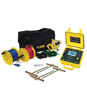 AEMC 4620 Kit-500ft: Ground Resistance Tester Model 4620 Kit-500ft (Model 4620 & Cat. #2135.37)