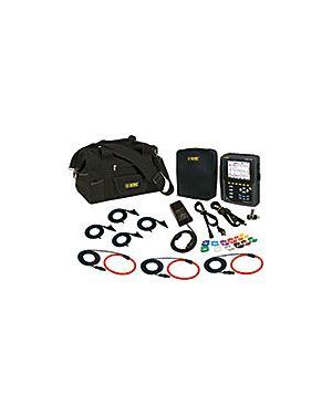 AEMC 8333 w/3 193-24-BK: PowerPad III Model 8333 w/3 193-24-BK AmpFlex Sensors Replacement for Model 3945-B Series