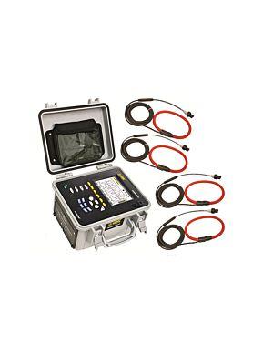 AEMC 8435 w/4 A196-24-BK: PowerPad Model 8435 w/4 A196-24-BK (AmpFlex- Waterproof IP67 )