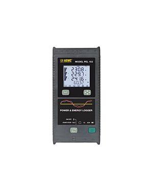 AEMC PEL 103 - w/o sensors: Power & Energy Logger Model PEL 103 (W/LCD, No Sensors)