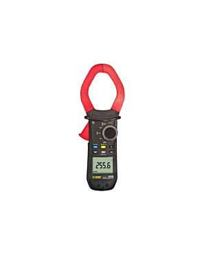 AEMC 603: Clamp-on Meter Model 603 (TRMS, 1000VAC/DC, 2000AAC/3000ADC, Ohms, Continuity, Temperature)