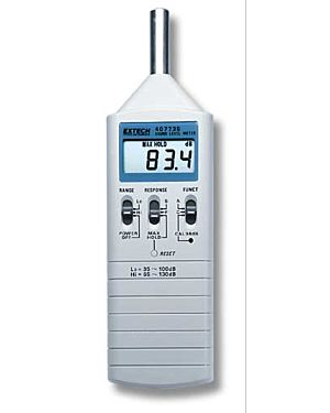 Extech 407735: Sound Level Meter