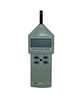 Extech 407740: High Accuracy Sound Level Meter