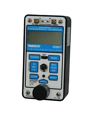 Transcat 5086T: Thermocouple Calibrator