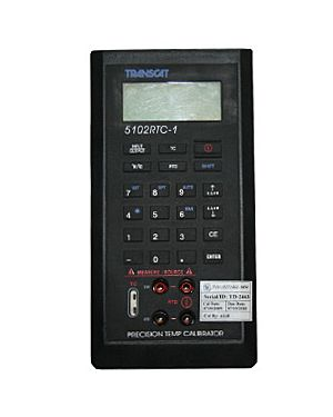 Transcat 5102 RTC: T/C and RTC Calibrator