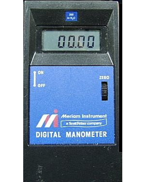 Meriam D1000IW: Manometer