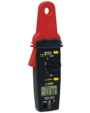 AEMC CM605: Clamp-on Meter Model CM605 (100AAC/DC, Low Current)