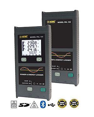 AEMC PEL 102 - w/o sensors: Power & Energy Logger Model PEL 102 (No LCD, No Sensors)