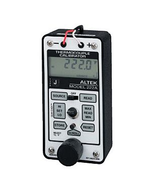 Altek 222A: Thermocouple Calibrator