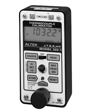 Altek 322-L-VIP: Thermocouple Calibrator