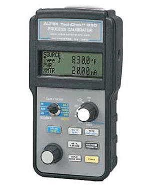 Altek 830E: Calibrator; Process, Multifunction