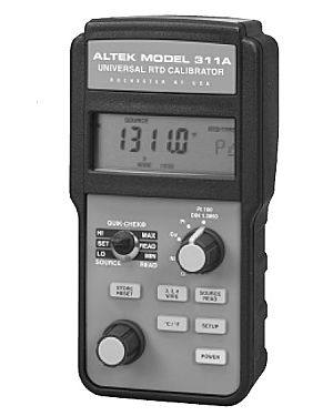 Altek 311: RTD Calibrator