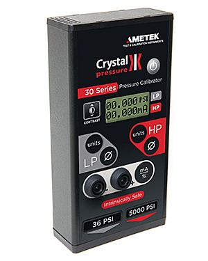 Ametek Crystal IS33-36 / 3000: Pressure Calibrator