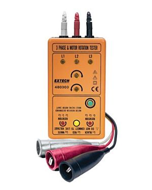 Extech 480303: 3 Phase & Motor Rotation Meter