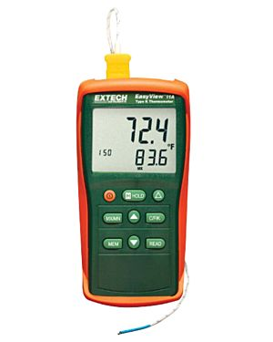 Extech EA11: Thermometer, Type K