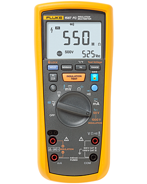 Fluke 1587: Insulation Multimeter