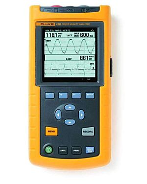 Fluke 43B: Power Quality Analyzer