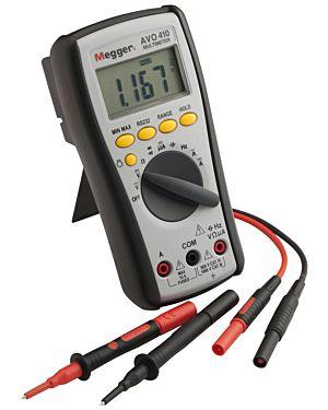 Megger 1001-613: Digital Multimeter, 1000V DC, 750V AC Voltage, CATIV 600V Rated