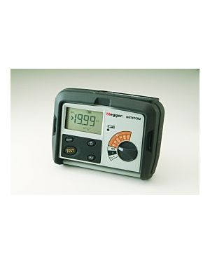 Megger DET4TCR2 1000-346:  Contractor Series Rechargeable Earth/Ground Resistance Tester