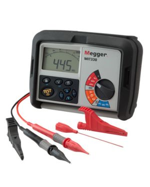 Megger MIT300-EN: Insulation and Continuity Tester