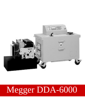 Megger DDA-6000 Circuit Breaker Test Set
