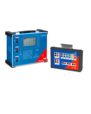 Omicron CT Analyzer with CT SB2 Switch Box: Current Transformer Testing