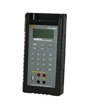 Martel PTC-8001: RTD & Thermocouple Calibrator