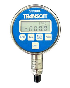 Transcat 23300P Series: Digital Pressure Gauge